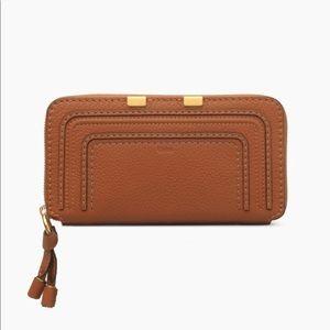 Chloe Marcie Zip Around Wallet